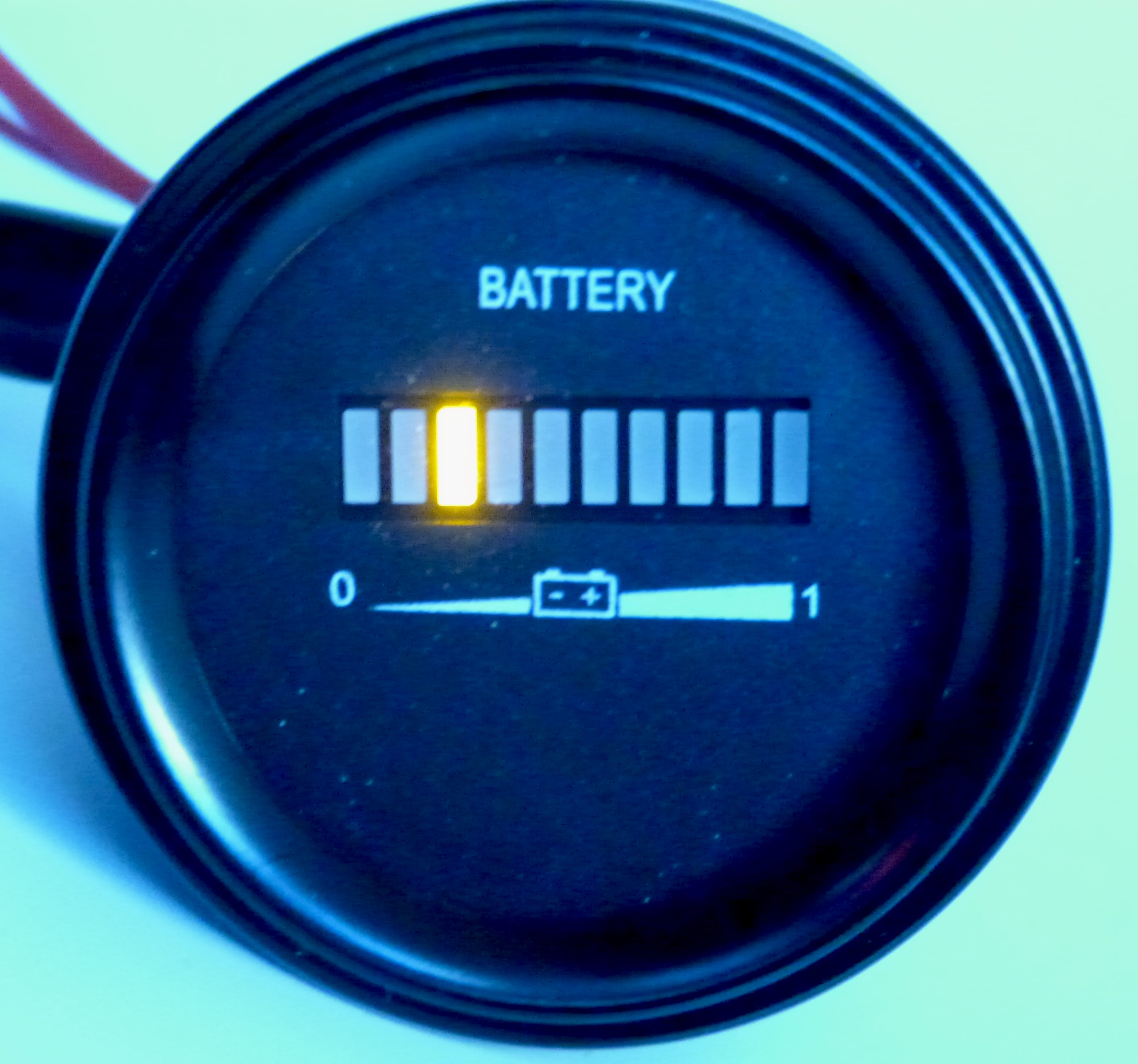 Battery Gauges Charge Indicators Flashing Led Status Indicator Low Warning